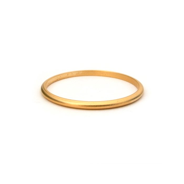 Ex. Skinny Stack Ring (Matte Color)