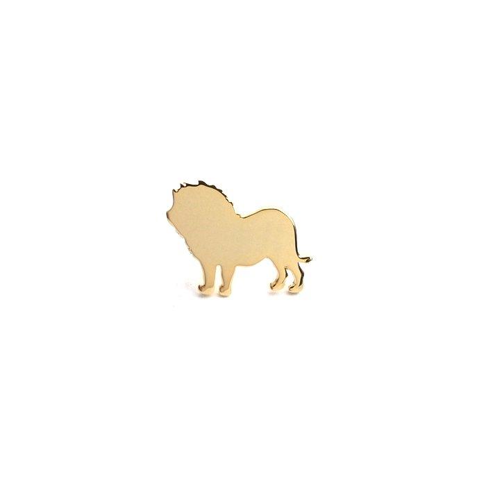 ライオンモチーフのアクセサリー