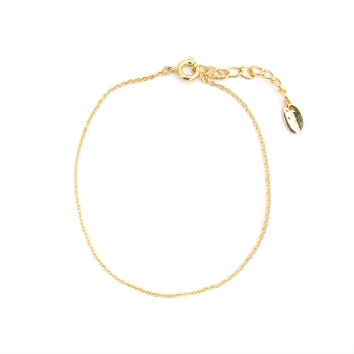 Plain Bracelet - Simple Chain (プレーンブレスレット - シンプルチェーン)