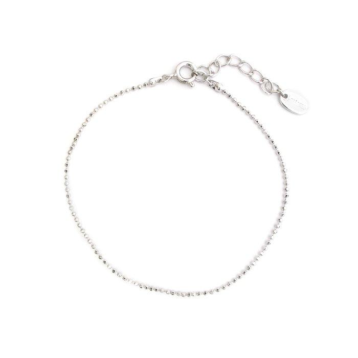 Plain Anklet - Ball Chain (プレーンアンクレット - ボールチェーン)