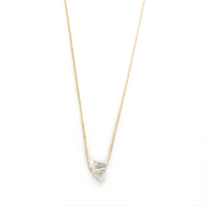 Tumbled Quartz Necklace