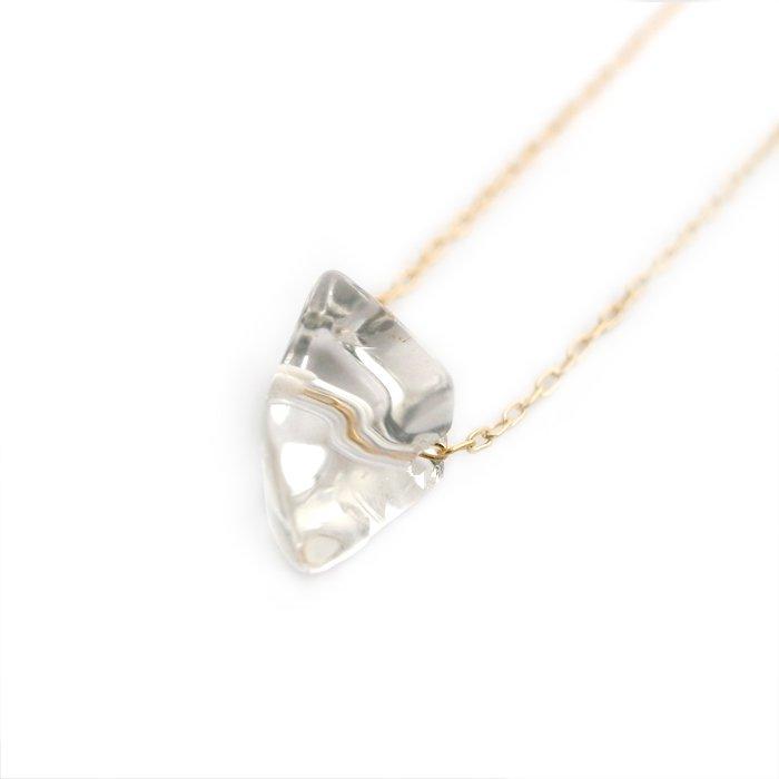 Tumbled Quartz Necklace