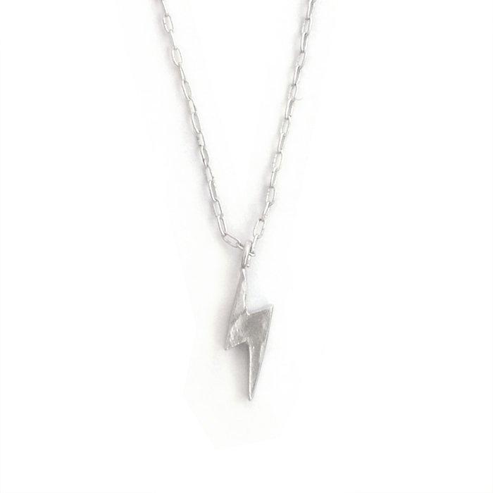Tiny Lightning Necklace