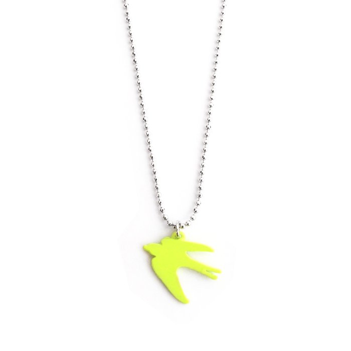 Safari Color Necklace - Swallow
