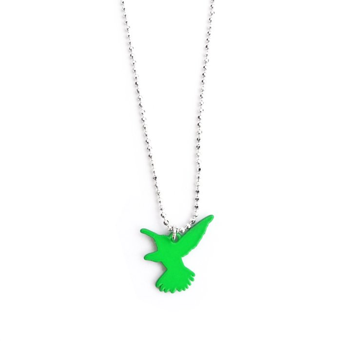 Safari Color Necklace - Hummingbird