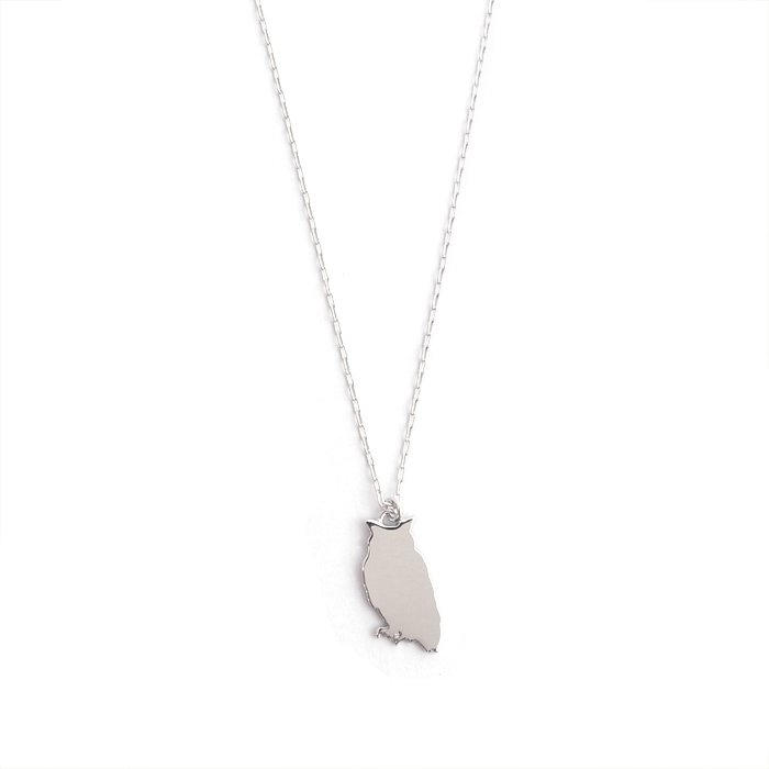 Safari Necklace - Owl