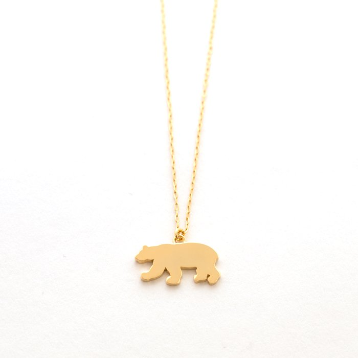 Safari Necklace - Polar Bear