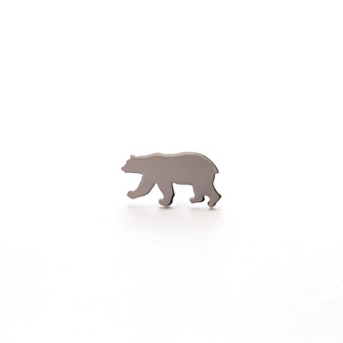 Safari Pins - Polar Bear (サファリピンズ - シロクマ)