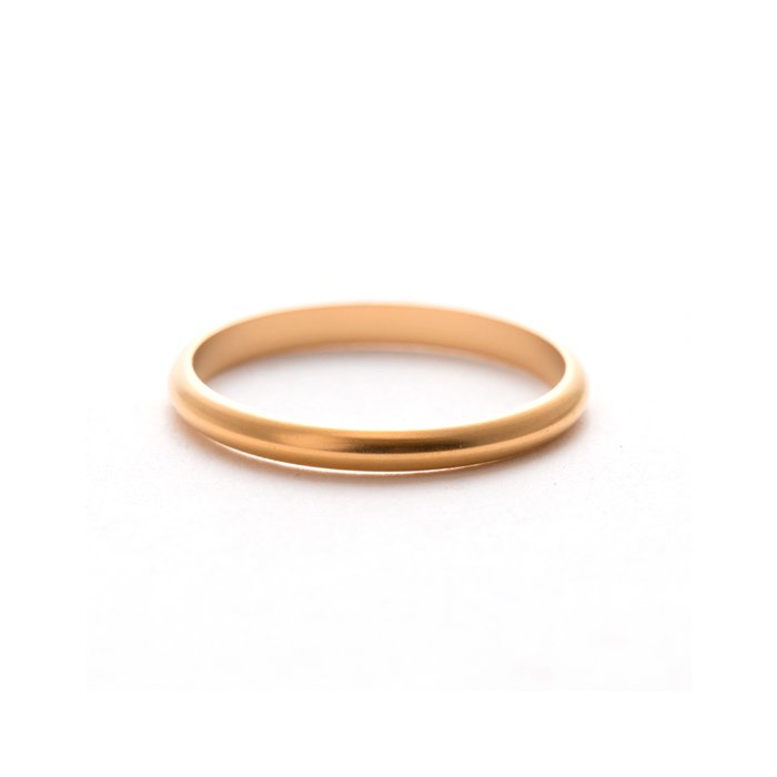 Plain Stack Ring (Mat Color)