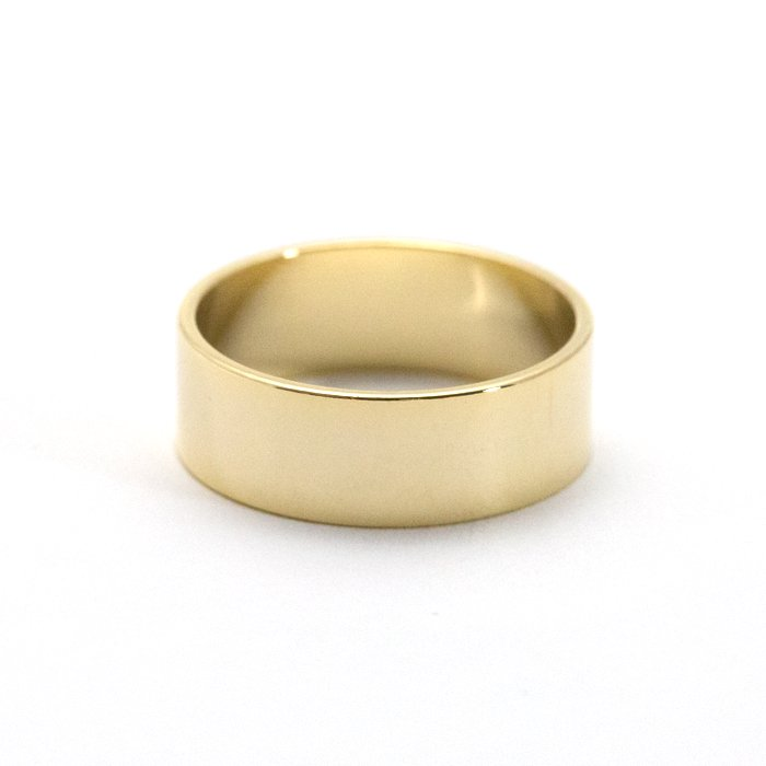 Wide Flat Ring