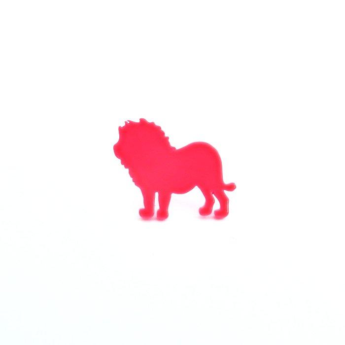 Safari Color Pins - Lion (サファリカラーピンズ - ライオン)