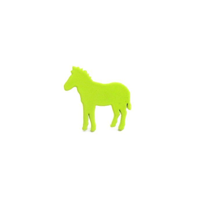 Safari Color Pins - Zebra (サファリカラーピンズ - シマウマ)