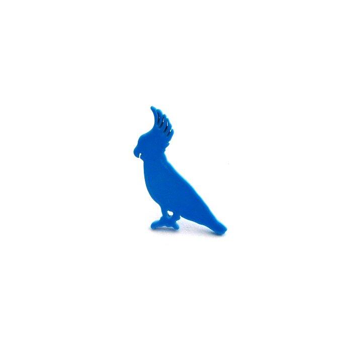 Safari Color Pins - Cockatoo (サファリカラーピンズ - キバタン)