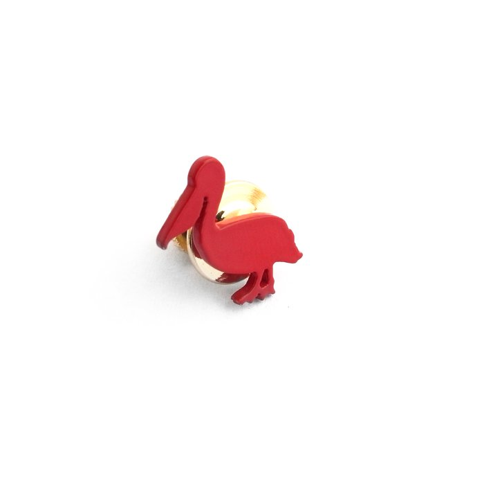 Safari Color Pins - Pelican (サファリカラーピンズ - ペリカン)