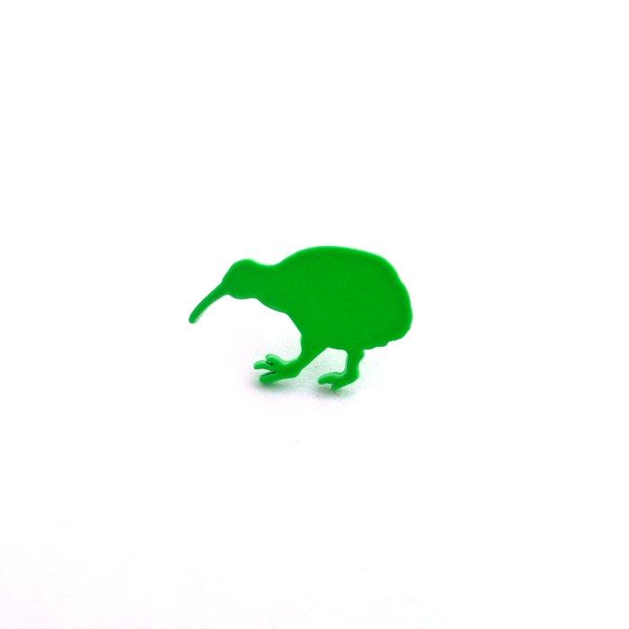 Safari Color Pins - Kiwi (サファリカラーピンズ - キーウィ)