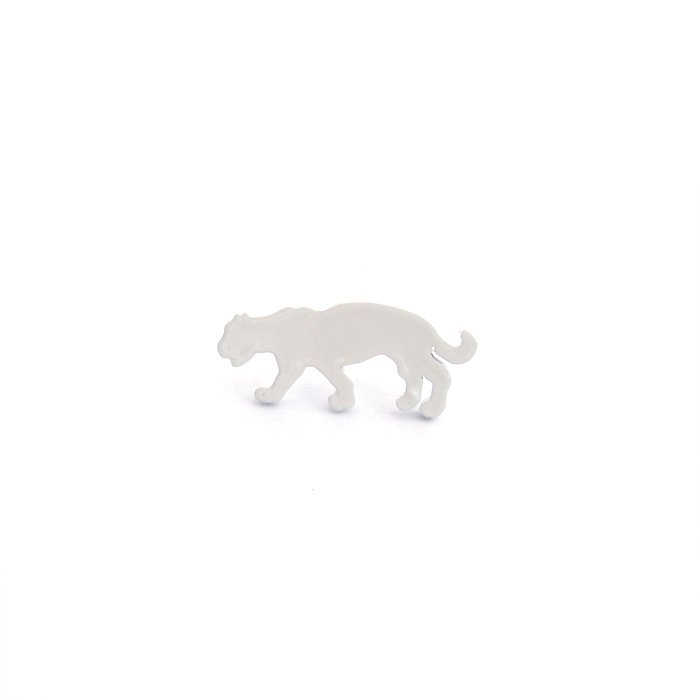Safari Monotone Pins - Leopard (サファリモノトーンピンズ - ヒョウ)