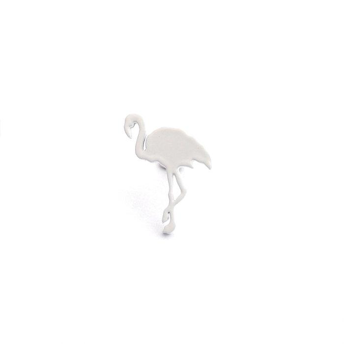 Safari Monotone Pins - Flamingo (サファリモノトーンピンズ - フラミンゴ)