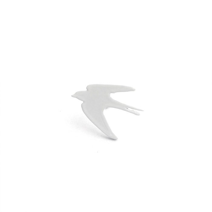 Safari Monotone Pins - Swallow (サファリモノトーンピンズ - ツバメ)