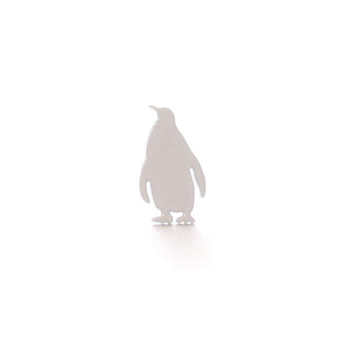 Safari Monotone Pins - Penguin (サファリモノトーンピンズ - ペンギン)