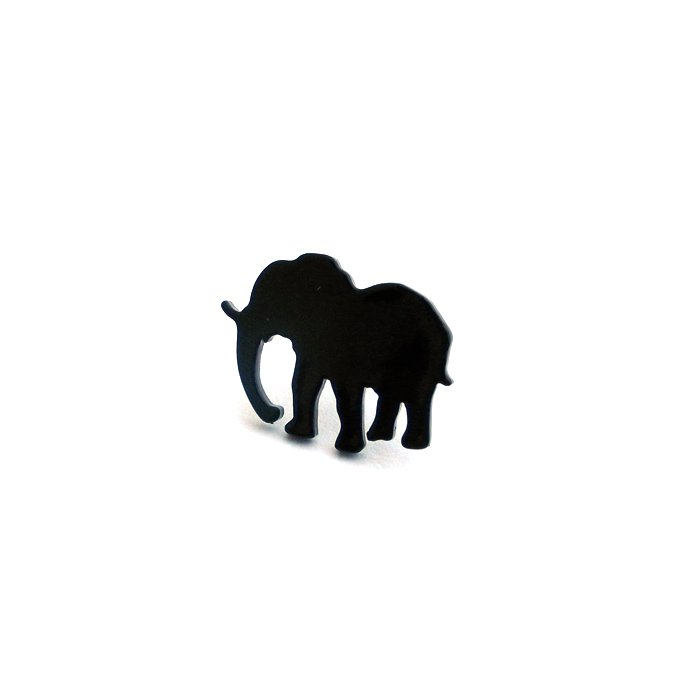 Safari Posts - Elephant - monotone