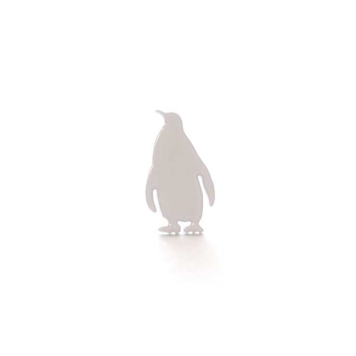 Safari Posts - Penguin - monotone