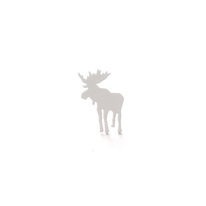 Safari Posts - Moose - monotone