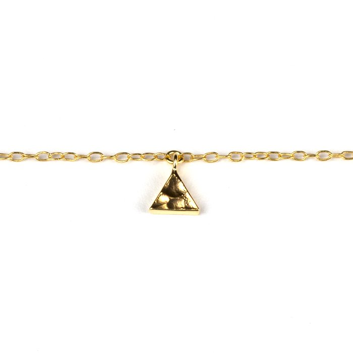Tiny Triangle Bracelet (タイニートライアングルブレスレット)