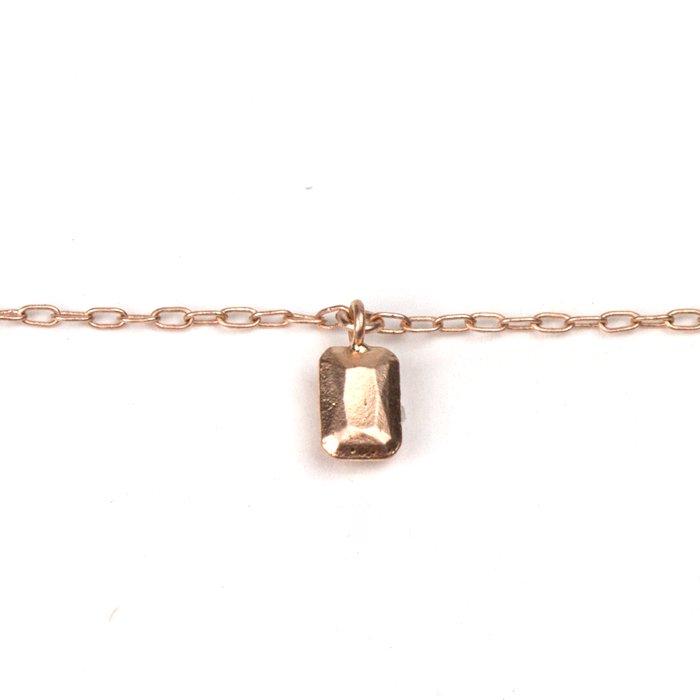Casted Gem Bracelet - Emerald Cut (キャストジェムブレスレット - エメラルドカット)