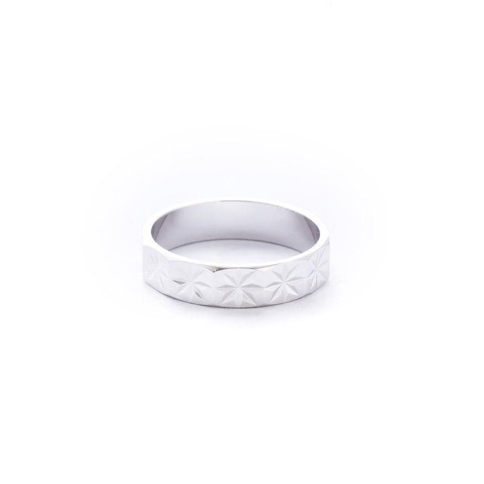 Diamond Cut Ring - Asterisk