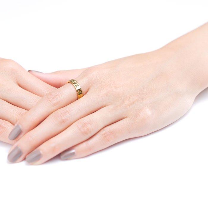 Diamond Cut Ring - Asterisk