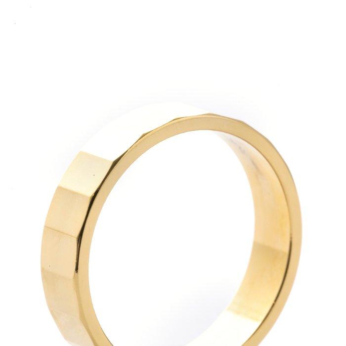 Diamond Cut Ring - 21Faces
