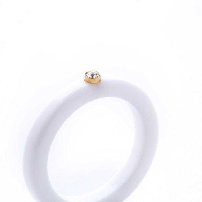 Acrylic 1 Stone Ring (アクリル1ストーンリング)