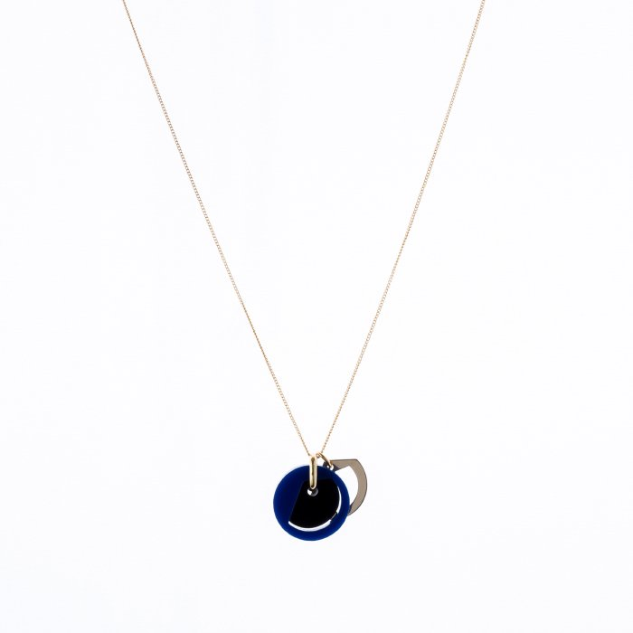 Acrynium Necklace - Moon (アクリニウムネックレス - ムーン)