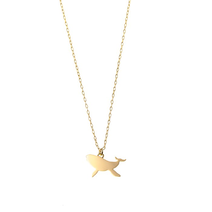 Safari Necklace - Whale (サファリネックレス - クジラ)