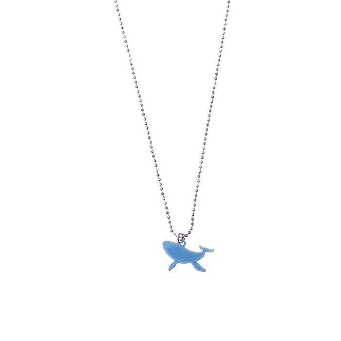 クジラのネックレス・カラー