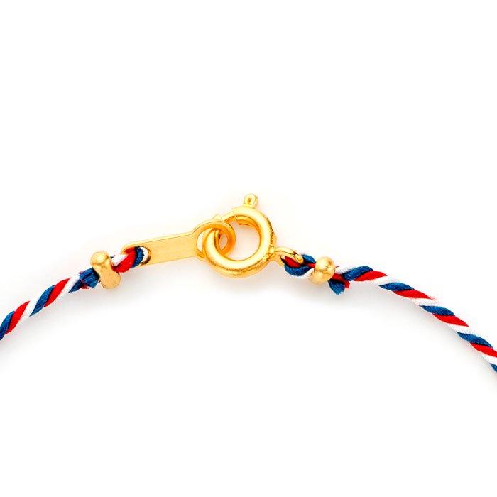 Tiny Heart Kumihimo Bracelet(タイニーハートくみひもブレスレット)