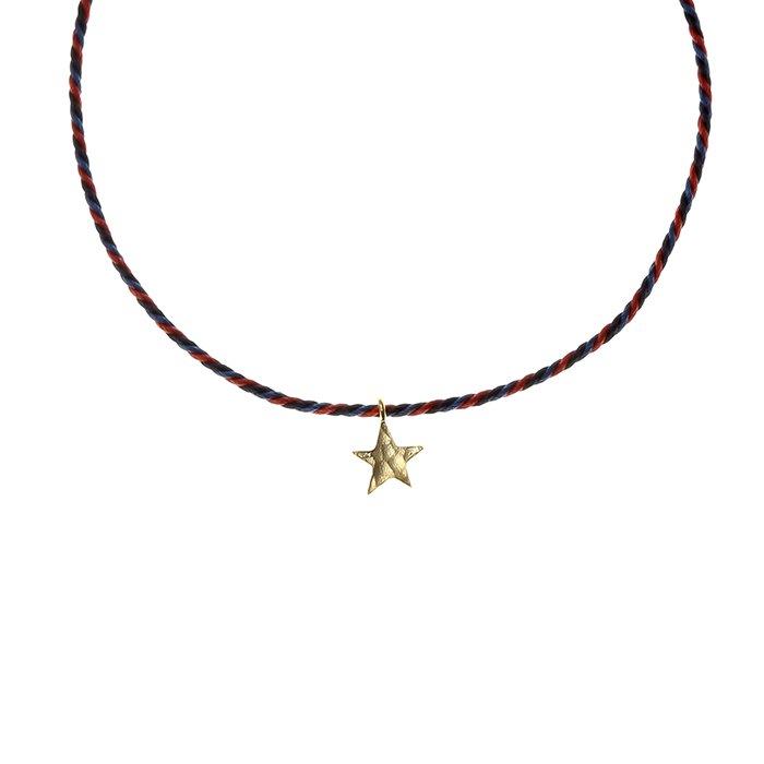 Tiny Star Kumihimo Bracelet(タイニースターくみひもブレスレット)