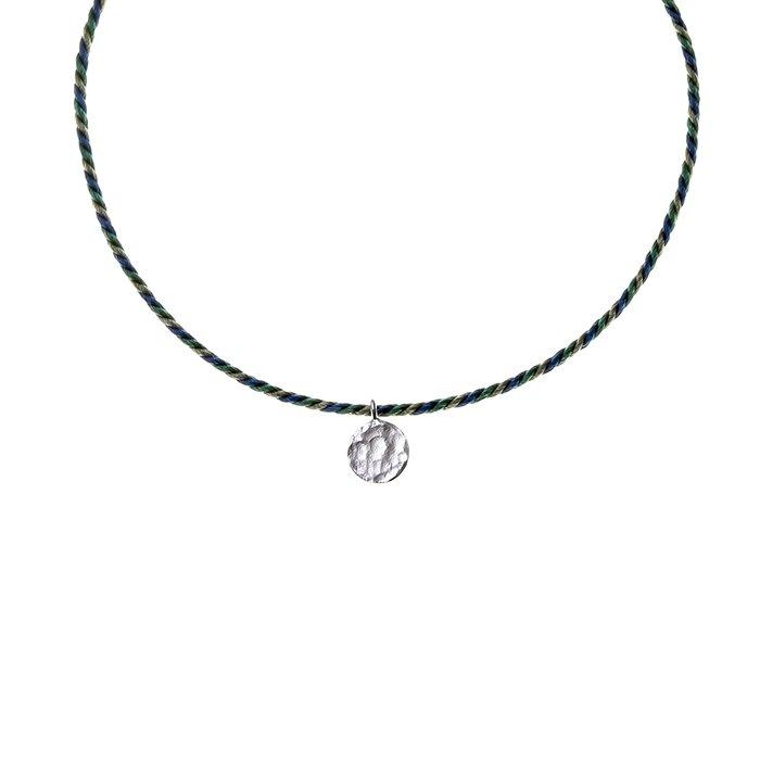 Tiny Circle Kumihimo Bracelet(タイニーサークルくみひもブレスレット)