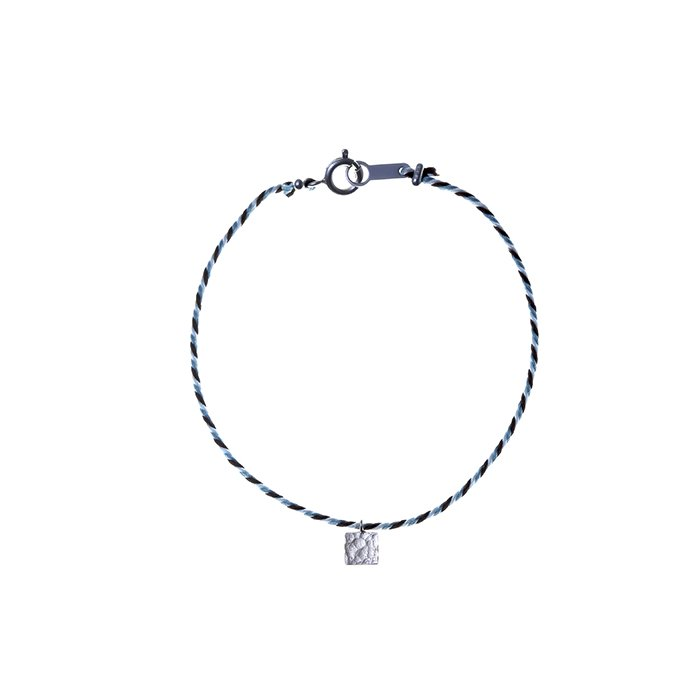 Tiny Square Kumihimo Bracelet(タイニースクエアくみひもブレスレット)