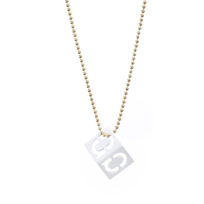 Alphabet Necklace - a (アルファベットネックレス - a)