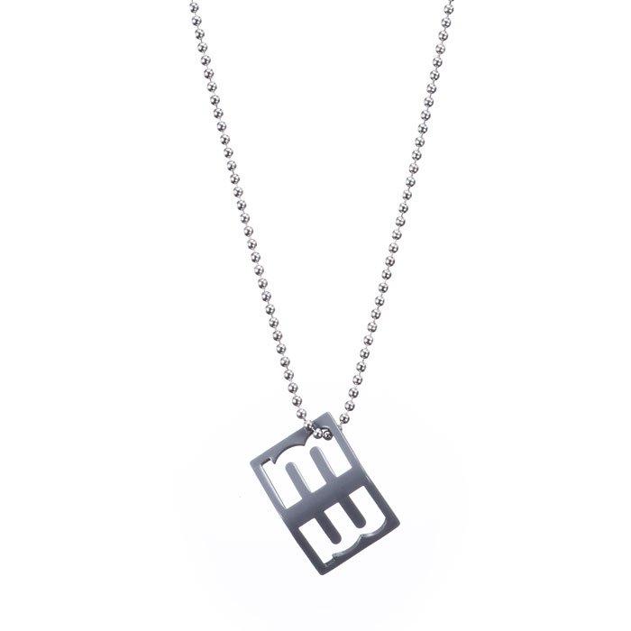 Alphabet Necklace - m (アルファベットネックレス - m)