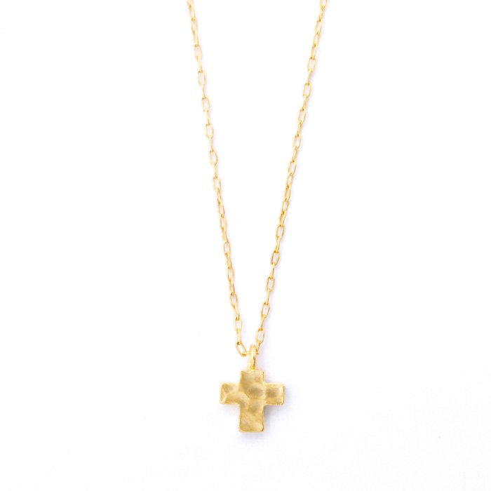 Tiny Cross Necklace(タイニークロスネックレス)