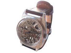 Silvertale(シルバーテイル)手巻き機械式時計