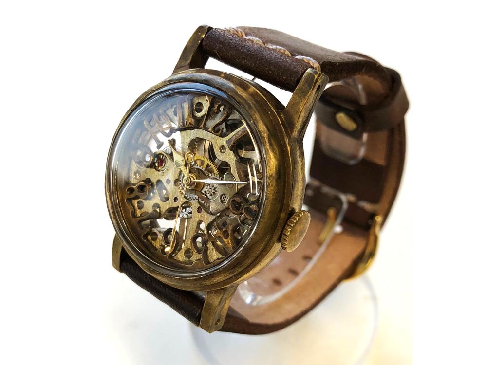 MECHROUND(メカラウンド)手巻き機械式時計