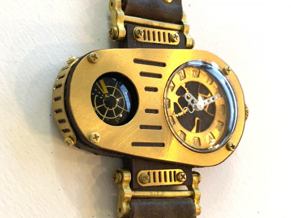 0937eb2b0a 異次元デザイン系スチームパンク腕時計: 廃墟・SF・スチームパンク ...