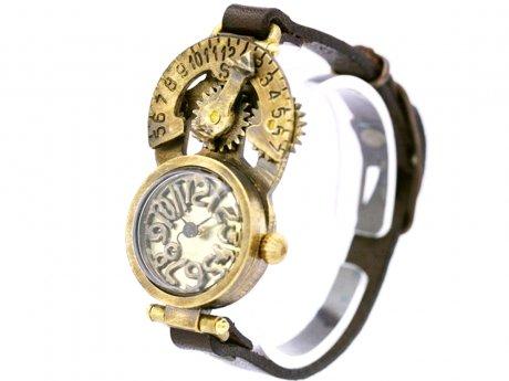 Hybrid Watch 回転式日時計付き