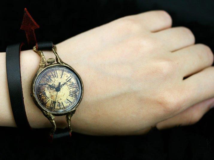 adam Double 手作り時計 ゴスロリ ゴシック ウォッチ