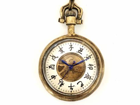【QD】和乃刻 / 手巻き懐中時計