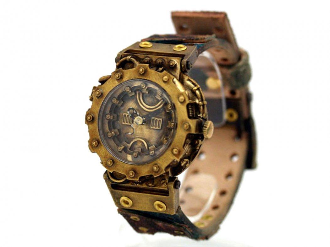 JHA スチームパンク風腕時計