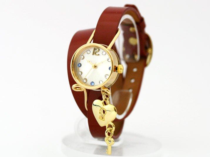 JHA ハートキー付き腕時計